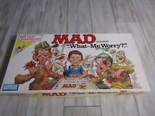 Vintage 1988 Parker Brothers MAD Magazine What-Me Worry? Board Game Complete