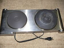 Deni Table Top Burner Double Plate, 1800-watt
