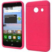Fundas y carcasas color principal rosa de silicona/goma para teléfonos móviles y PDAs Huawei