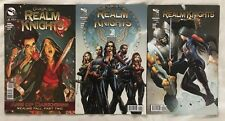GRIMM FAIRY TALES - REALM KNIGHTS - Three (3) Issue Lot - #1, 2 & AGE OF DARKNES