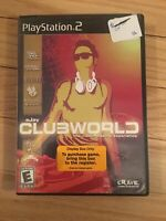 eJAY CLUBWORLD - PS2 - COMPLETE WITH MANUAL - FREE S/H - (GG)