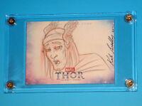 2011 Thor Mighty Avenger Movie Artist Sketch Card Kate Bradley UD Upper Deck 1/1