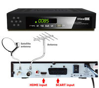 New FULL HD COMBO Freeview HD & Satellite HD Receiver HD RECORDER TV Set Top Box