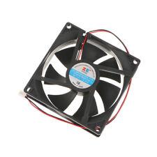 12V DC Case Cooling Fan 92x92x25mm PC Heat Sink Cooler Fan 2 Pin Wire