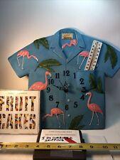 Vintage Jimmy Buffet Wall Clock With Jimmy Buffett Cd Fruit Cakes Clock Works!
