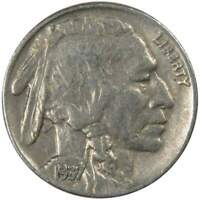 1937 Indian Head Buffalo Nickel 5 Cent Piece VF Very Fine 5c US Coin Collectible