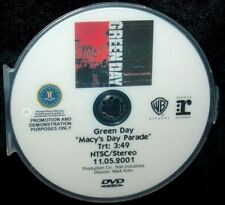 GREEN DAY Macy's Day Parade Record Company Promo Music Video DVD Single NOT A CD