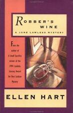 Robber's Wine: A Jane Lawless Mystery (Jane Lawless Mysteries), Ellen Hart, 1878