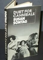 Susan Sontag Duet For Cannibals 1st Edn in D/J 1974