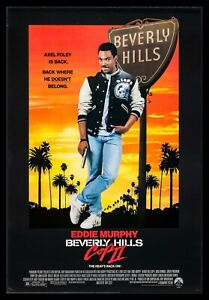 Beverly Hills Cop 2 1984 - FRAMED COMEDY MOVIE POSTER - 3 SIZES