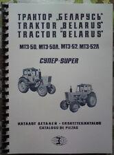 ERSATZTEILKATALOG BELARUS MTS 50 / MTS 52 DEUTSCH MTS50 / MTS52 FORTSCHRITT IFA