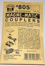 "Kadee O scale # 805  ""All Metal""  magne-matic couplers"