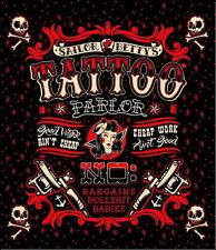 In poliestere 180 x 200CM Gotico Punk Nero Rosso Bianco Tatuaggio novità per tende da doccia