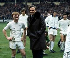 Don Revie Billy Bremner Leeds Utd 10x8 Photo pitch