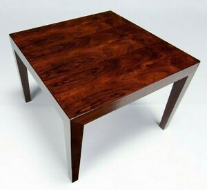 Charming Rosewood Coffee Table by Severin Hansen Danish Vintage Furniture 1950's