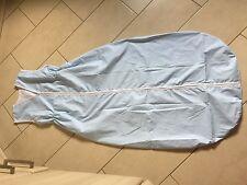 Sommer Schlafsack 160 cm NEU weiß mit Blumen