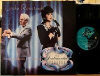 Linda Ronstadt For Sentimental Reasons Vinyl LP Asylum 60474-1 Nelson Riddle NM