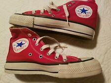 Vintage 70's CONVERSE Chuck Taylor ALL STAR Hi Top SZ MENS 3.5 WOMENS 5 USA RED