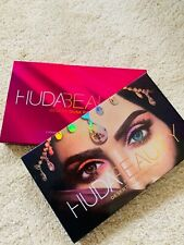 Brand new Huda beauty eyeshadow palettes Rose Gold Dessert Dusk and Nude