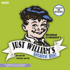Richmal Crompton JUST WILLIAM'S GREATEST HITS CD Audio Book -17 stories NEW #c7