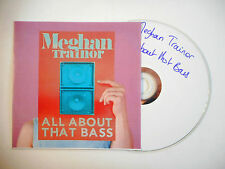MEGHAN TRAINOR : ALL ABOUT THAT BASS ♦ CD SINGLE PORT GRATUIT ♦