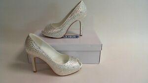 Shades Wedding Bridal Shoes - 767 - Ivory - UK 5 - Dyeable Fabric #35B357