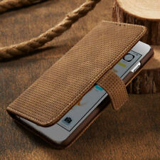 Luxury Vintage Magnetic Wallet Mesh Suede Leather Case Cover For Apple iPhone
