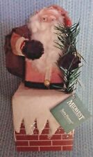 Midwest Santa in Chimney Decoration designed by Teena Flanner New