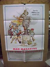 UP THE ACADEMY, orig 1-sht  / movie poster (Mad Magazine movie) - Rickard art
