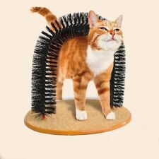 US Ship Purrfect Arch Cat Groom Self Grooming Toy Self Groomer and Massager