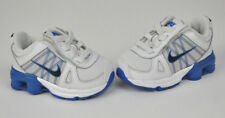 NIKE Shox Agent INFANT White BLUE Sneakers SHOES Style 432074 BABY Size 2C
