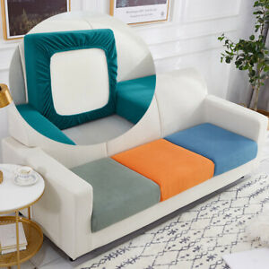 Elastic Sofa Cushion Cover For Armchair Living Room Thick Corner Sofa Seat Cover