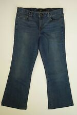 Calvin Klein Jeans Women's 14 Boot cut Flare Medium Stonewashed Distressed