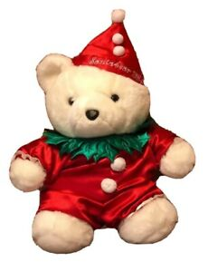 "Dayton Hudson- Vintage 1994 SantaBear (Mild Wear On The Nose) (17""x14"")"