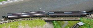 Twin flatbed wagon    by MINITRIX    N Gauge   (7)