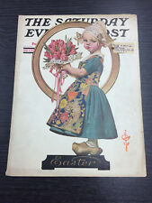 ORIGINAL Saturday Evening Post Cover by Leyendecker: April 3rd 1926