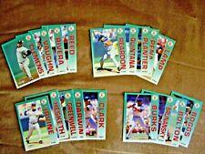 1992 FLEER  SET OF BOSTON RED SOX CARDS