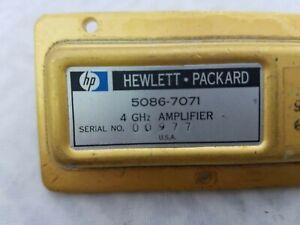 HEWLETT PACKARD  5086-7071 AMPLIFIER  4 GHZ