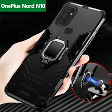 For OnePlus Nord N10 N100 5G Armor Shockproof Rugged Magnetic Ring Case Cover