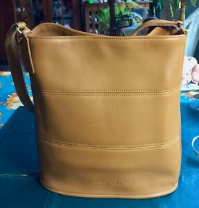 COACH Tribeca Hobo Bucket Caramel Brown  - GORGEOUS!