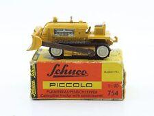 Blechspielzeug Schuco Piccolo 754 Deutz Planierraupenschlepper Caterpillar OVP