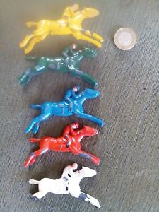 SPARE LEAD HORSES for VINTAGE CHAD VALLEY 1950s *ESCALADO* HORSE RACING GAME