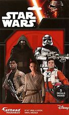 Star Wars Episode VII Tradeables Fathead Decal 5 Per Pack