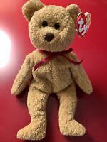 RARE Curly Beanie Baby Bear ERRORS 1993