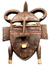 Art African - Antique Mask Portage Koulango - Sculpture Archaic - 26 CMS