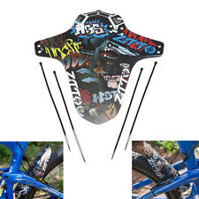 1pc Black Mountain Bike guardabarros bicicleta delantero trasero guardabarr  Ew