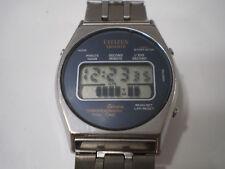 Orologio Vintage elettronico Citizen Seven Quartz chronograph