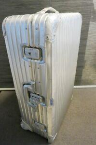 Original Rimowa Aluminium Koffer mit Rollen