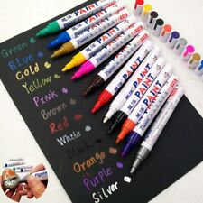 13 Colors Waterproof Permanent Pen Oily Paint On Paper Wood Plastic Glass Tyres