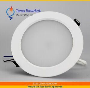 12W Flush Face 140mm Face Diameter LED Downlight Non-Dimmable Down Light Kit SAA